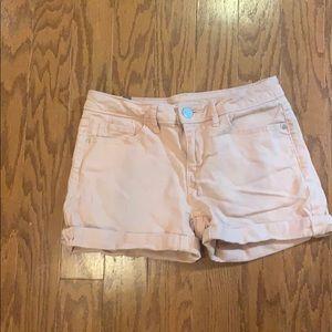LC Lauren Conrad Peach Denim Shorts - size 2